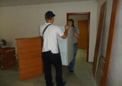 Офисный переезд и перевозка сейфа 300 кг