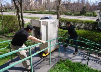 Перевозка банкомата 750 кг