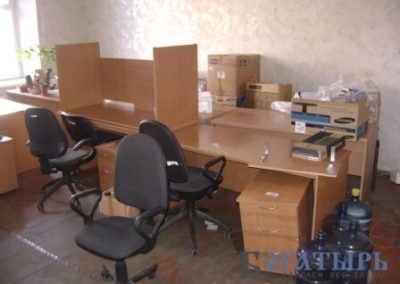 Переезд офиса 5 кабинетов