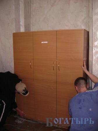 Офисный переезд 5 кабинетов