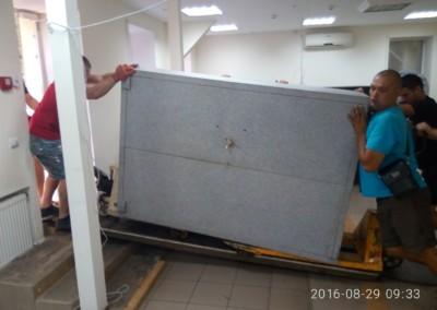 Перевозка сейфов банка