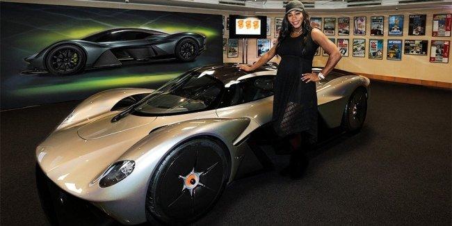 У нового суперкара Aston Martin количество лошадиных сил превышает вес!