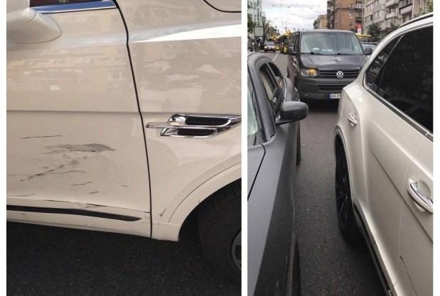 Происшествие в Киеве: VIP-персона попала в аварию