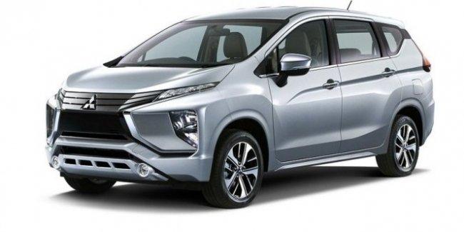 Появились официальные фото нового кроссвэна Mitsubishi, вызывающие недоумение