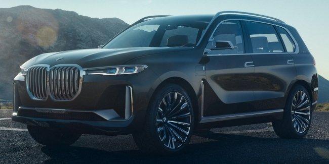В сети появились допремьерные снимки нового BMW X7 (8 фото)